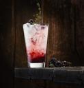 Blackberry thyme gin - KSWF01899