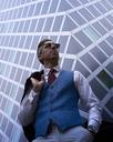 Portrait of fashion blogger Steve Tilbrook - BEF00011