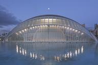 Spain, Valencia, City of Arts and Sciences, L'Hemispheric - FC01386