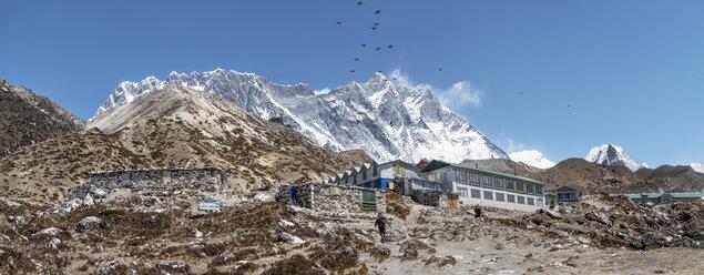 Nepal, Solo Khumbu, Everest, Chukkung lodge village - ALRF01074