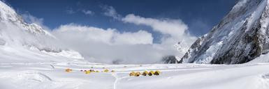 Nepal, Solo Khumbu, Everest, Camp at Western Cwm - ALRF01137