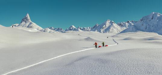 Greenland, Schweizerland Alps, Kulusuk, Tasiilaq, ski tourers - ALRF01219