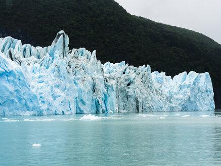 Argentina, Patagonia, El Calafate, Puerto Bandera, Lago Argentino, Parque Nacional Los Glaciares, Estancia Cristina, Spegazzini Glacier, iceberg - AMF05710