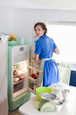 Woman baking in kitchen - CUF01272