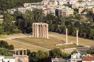 Greece, Athens, Temple of Olympian Zeus - TAMF01079