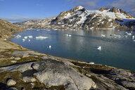 Greenland, East Greenland, Sammileq Fjord - ESF01656