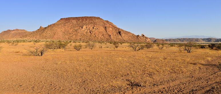 Africa, Namibia, Kunene Province, Namib Desert, Damaraland, Twyvelfontein, Aba Huab valley, granite landscape - ESF01661