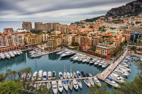 Principality of Monaco, Monaco, Monte Carlo, Fontvieille, Port de Fontvieille - ABOF00344