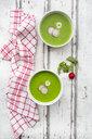 Organic radish green soup - LVF06950