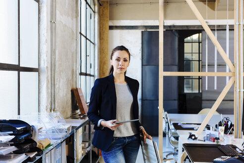 Portrait of businesswoman in office - CUF03244
