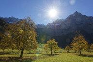 Austria, Tyrol, Eng, Karwendel mountains, Riss Valley, Grosser Ahornboden mountain - LHF00565