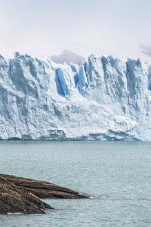 View of lake Argentino, and Perito Moreno Glacier in Los Glaciares National Park, Patagonia, Chile - CUF08030