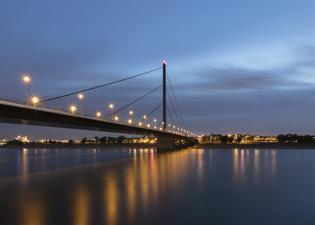 Oberkasseler Bridge, Düsseldorf, Germany - CUF08813