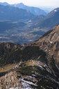 Germany, Bavaria, Berchtesgaden Alps, Schneibstein, View to valley and town - HAMF00286
