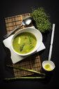 Asparagus cream soup with green asparagus - MAEF12594