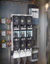 High voltage fuse box of solar plant, close-up - CVF00532