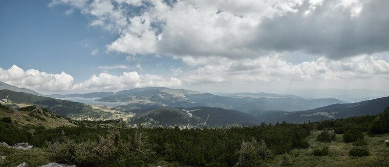 Velingrad, Panoramic view from Rila mountain to Belmeken dam - BZF00391