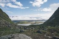 Norway, Lofoten, Moskenesoy, Kvalvika Beach - GUSF00902