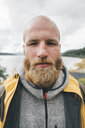 Portrait of a man travelling the Lofoten - GUSF00905