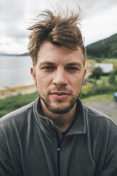 Portrait of a man travelling the Lofoten - GUSF00908