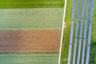 Germany, Baden-Wuerttemberg, Schurwald, solar plant - STSF01574