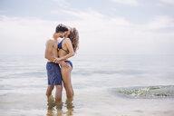 Couple on beach - ISF04713