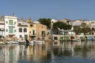 Spain, Baleares, Mallorca, Portocolom, fishing harbour - PCF00370