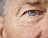 Blue eye of mature man - CVF00630