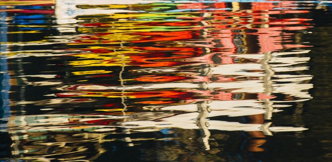 Colourful reflections in water - ISF07233