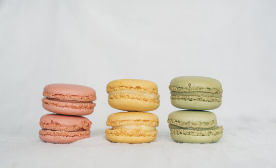 Colorful macarons in a row - JPF00326