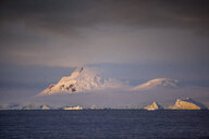 Antarctic, Antarctic Peninsula, iceberg, morning mood - CVF00677
