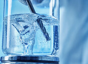 Chemical laboratory, drill in liquid - CVF00718