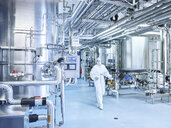 Chemist in a chemical factory - CVF00730