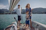 Family on a sailing trip - JLOF00033