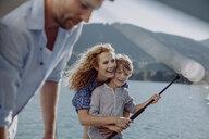 Family on a sailing trip - JLOF00036