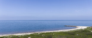 Germany, Schleswig-Holstein, Helgoland, panoramic view of beach - KLRF00593