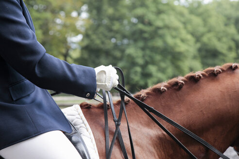 Horse and rider in dressage event - CUF24040