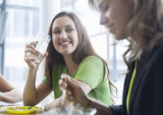 Businesswomen enjoying lunch - CUF25220