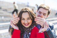 Russia, Moscow, couple dating and having fun - WPEF00413