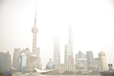 The Bund skyline, Shanghai, China - CUF30463
