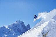 Skier, Chamonix, France - CUF31230