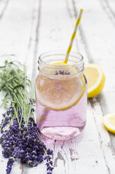 Homemade lavender lemonade with lemon - LVF07091