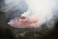 Africa, Democratic Republic of Congo, Virunga National Park, Nyiragongo volcano - REAF00298