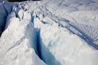 USA, Alaska, crevasse at Matanuska Glacier - CVF00815
