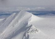 USA, Alaska, Denali National Park, aerial view of Mt. McKinley - CVF00839