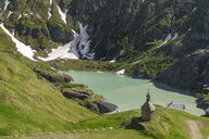 Austria, Carinthia, High Tauern National Park, Sacred Heart Chapel at Margaritze reservoire - PCF00386