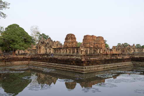 Thailand, Buriram Province, Khmer Temple, Prasat Muang Tam - HLF01096