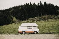 France, caravan on roadside - ACPF00047