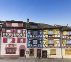 France, Alsace, Colmar, Old town, half-timbered houses - KLR00598