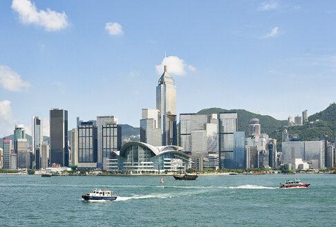 Victoria harbour, Tsim Sha Tsui, Hong Kong - ISF13126